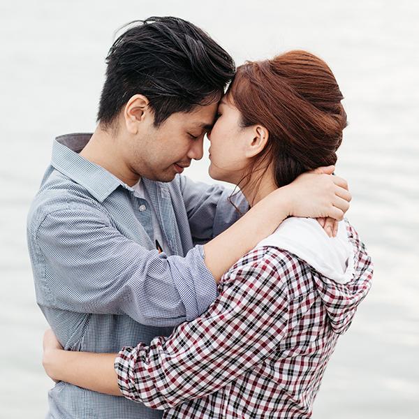 Beloved couple prewedding in Pantai Puteri Melaka